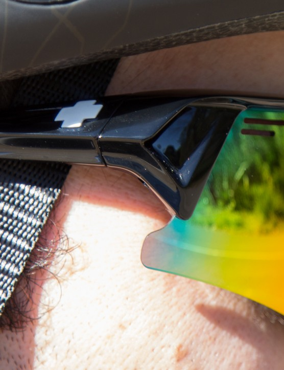 Spy Optic Screw Over sunglasses offer plentiful face coverage
