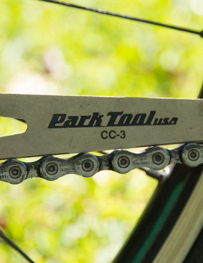 A chain checker tool is a simple and cheap item that will keep a check on your drivetrain wear