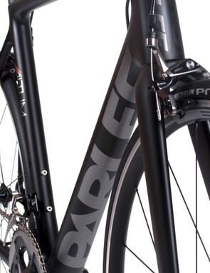 The rounded down tube and seat tube are evolved from the Z5SLi