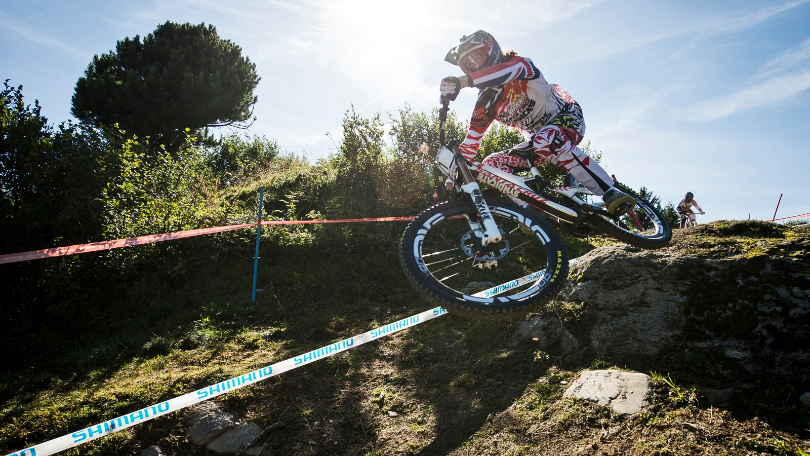 Glory on the day may have gone to Sam Hill and Rachel Atherton, but it was Josh Bryceland (pictured) and Manon Carpenter who took home the series titles