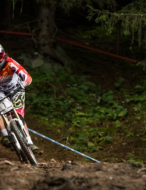With two World Cup wins under his belt, third place was enough for Josh Bryceland to take the series title