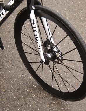 Lightweight are experimenting with road disc systems