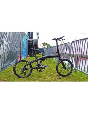 The Tern Verge X20 folding bike looks to be a zippy solution to multi-modal commuting