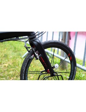 Tern's new fork looks much sleeker than before