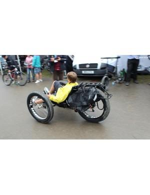 Fat bikes are so last year. Here come the fat trikes