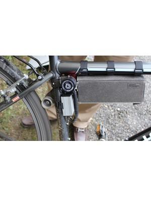 Hidden Power (€990) drives the rear wheel via a spring-loaded roller