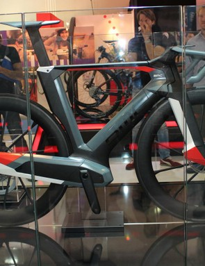 BMC engineers designed and created the Impec Concept project bike in four months to show off the Swiss company's resources