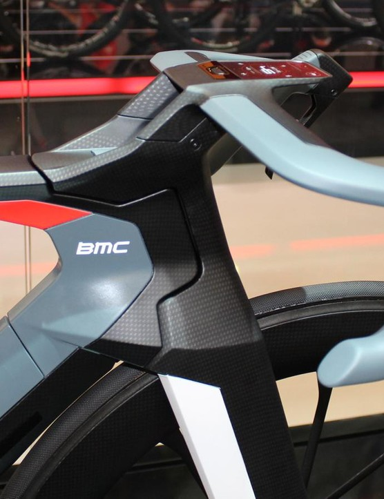 The bike as a whole has not been ridden, but several pieces, like the bars, fork, saddle and seatpost have