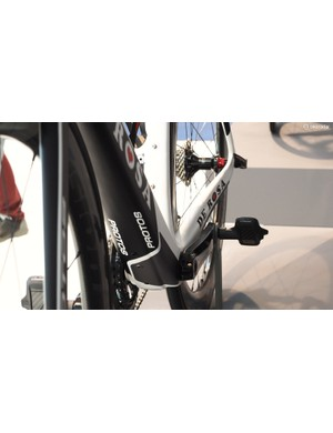De Rosa's new Protos makes full use of the available real estate on the PF86 bottom bracket shell