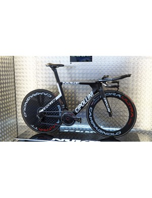 Cipollini showed off its new Nuke time trial/triathlon bike at this year's Eurobike show