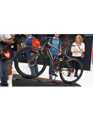 Pinarello takes its radical asymmetrical design philosophy to the full-suspension Dogma XM