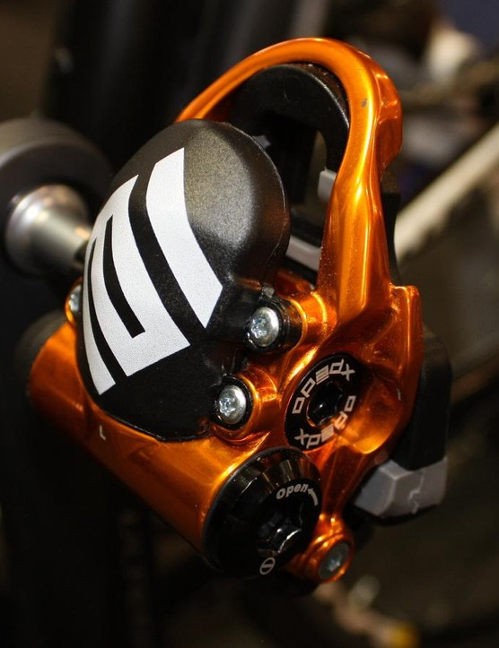 The Xpedo Thrust E is a new pedal-based power meter from Taiwan