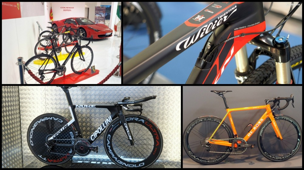 Scroll, click or swipe your way through our mega gallery of 2015 Italian bikes from Eurobike