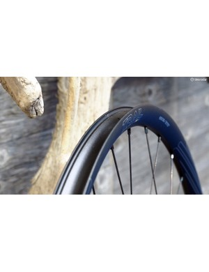 Like the WCS Zeta road wheels, the new Ritchey WCS Trail rim has a solid outer wall for easy tubeless compatibility