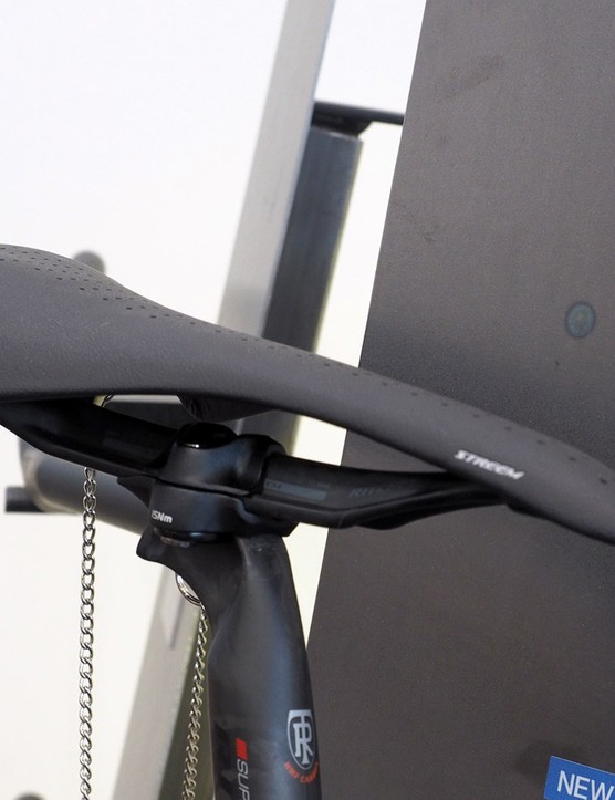 Ritchey says its new Superlogic Vector Evo saddle and seatpost weigh just 260g combined