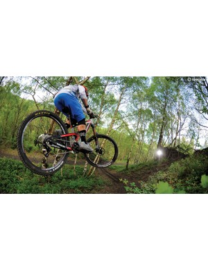 Sort out the trail chatter and the Ariel's a joy to pound through the rough stuff on