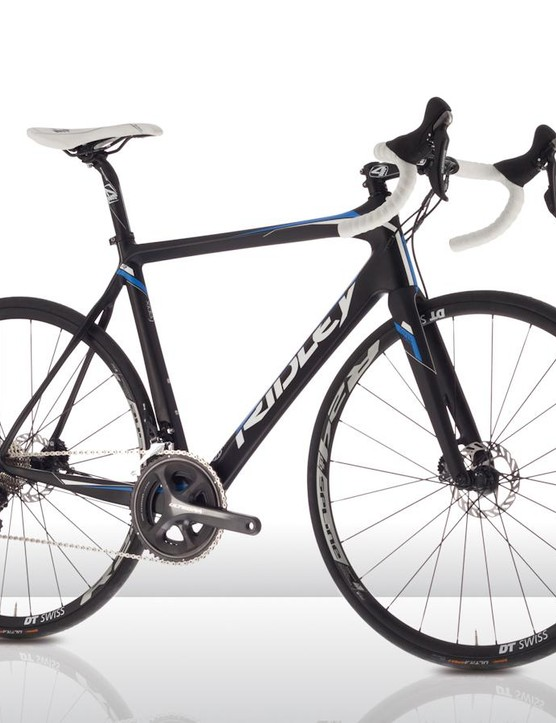 The Ridley Fenix C 10 Disc with Shimano Ultegra and RS785 brakes