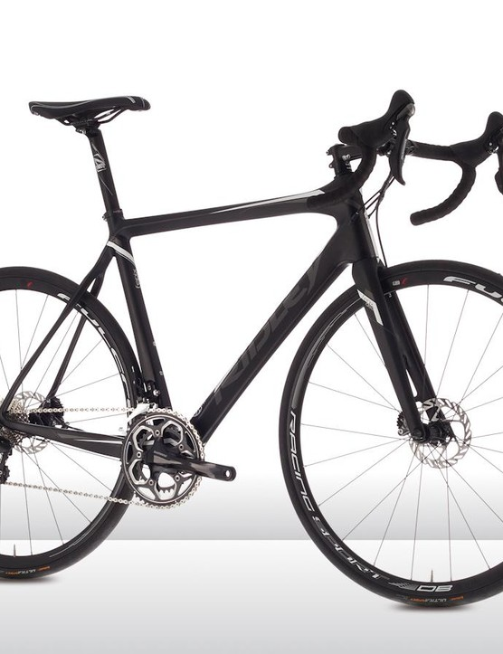 The Ridley Fenix C 30 Disc with Shimano 105
