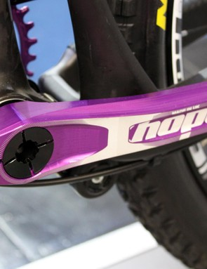 Hope says its alloy crank will be available in November and that a carbon model is also being developed
