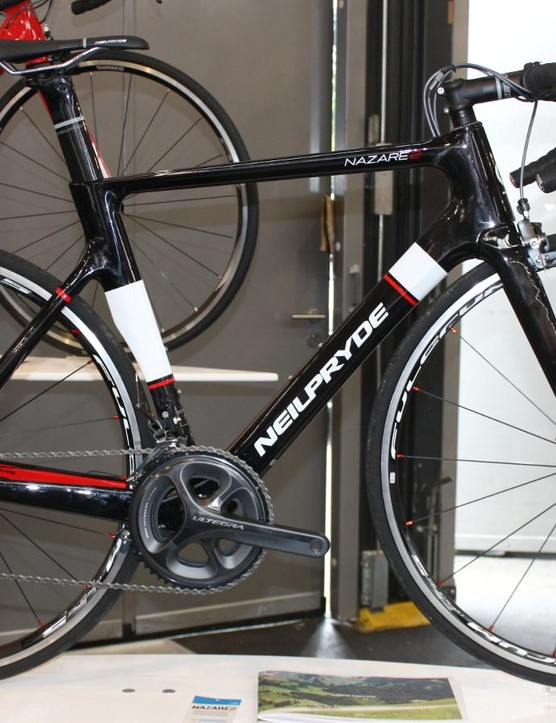 The Ultegra Nazare2 comes with Fulcrum Racing 5 wheels