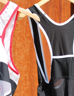 Pearl Izumi also has a similar concept with some of its road bibs
