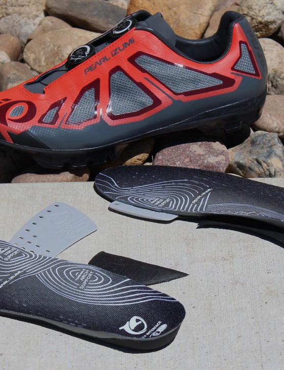 The X-Project comes with tuneable insoles