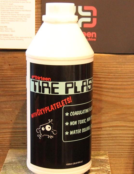 e*thirteen has developed its own sealant for tubeless setups