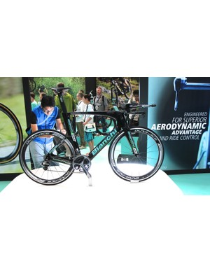 The Bianchi Aquila CV was launched at the 2014 Tour de France