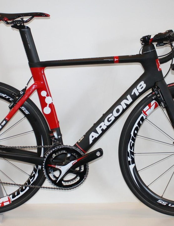 The Argon 18 Nitrogen is the Canadian company's first aero road bike