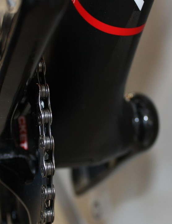 Argon 18 drops its BB86 bottom bracket lower to the ground for better stability