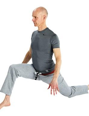 The hip flexor stretch