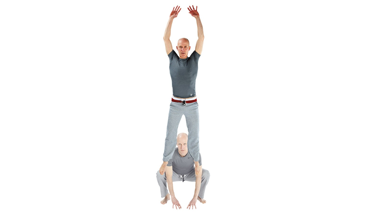 Jump squats are a dynamic exercise that develops fast twitch muscles in your legs. The deep landing variation shown here is also great for fat loss