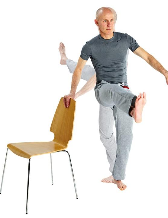 Lateral leg swings
