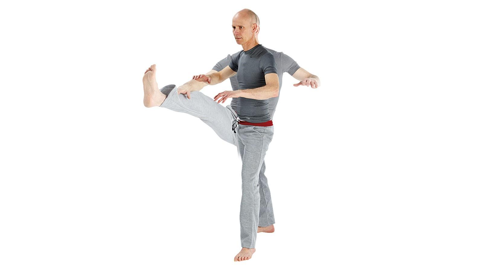Standard leg swings