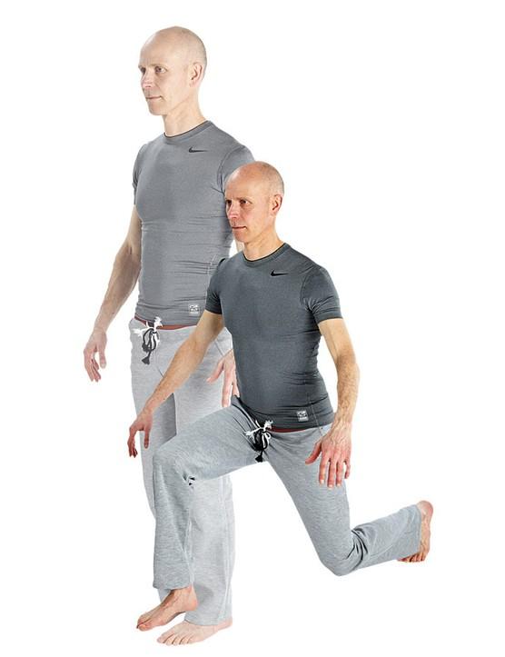Basic/stepping lunge