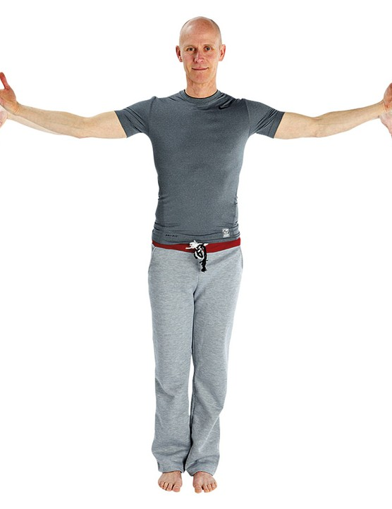 Rotate the wrists in both directions