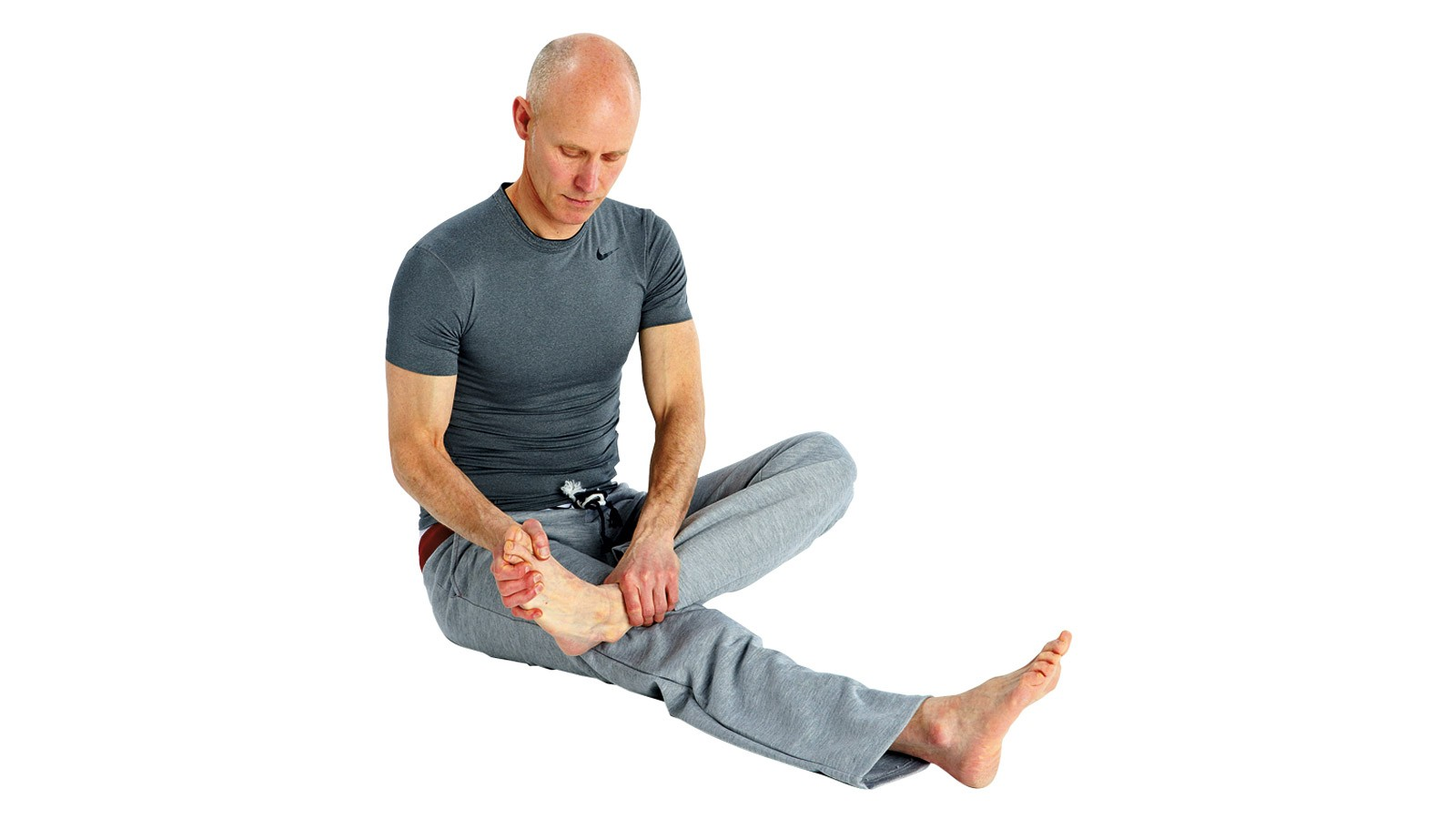 Ankle joint rotations