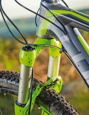The Manitou fork is a weak link with twangy, notchy travel