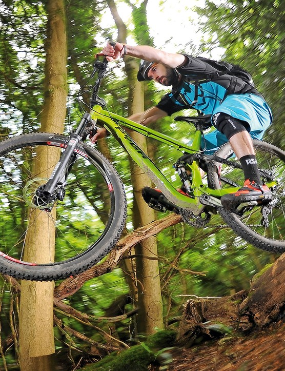 With a burlier build in place, this bike calls out for the pull of gravity