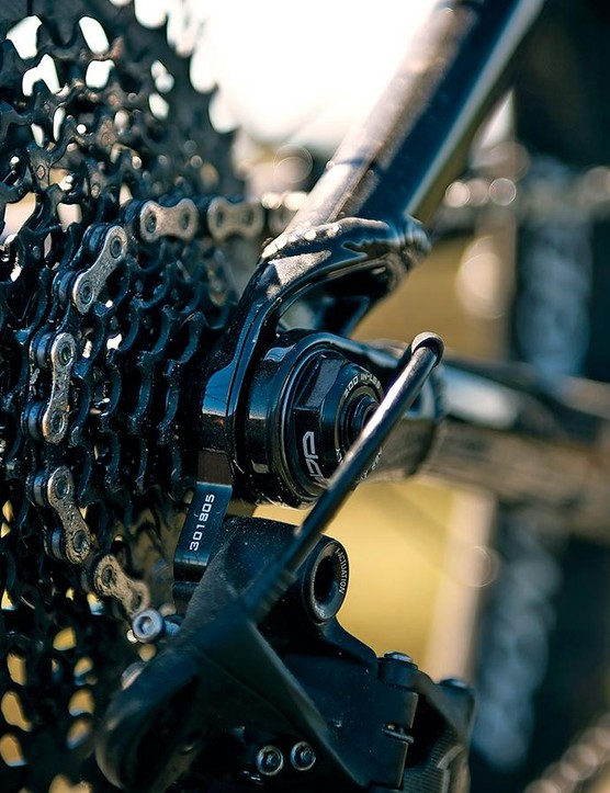 SRAM's X1 single ring drivetrain is a superb performer