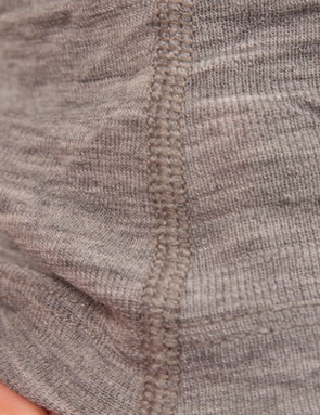 Flatlock seams are comfortable against the skin