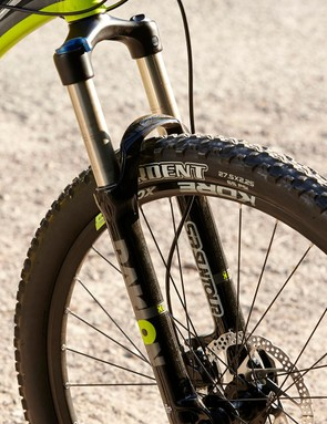 The Suntour Raidon fork is a worthwhile step up from the XCRs found elsewhere at this price range