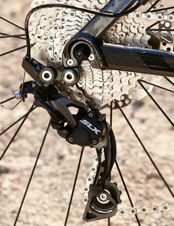 The gearing is well chosen for a 29er