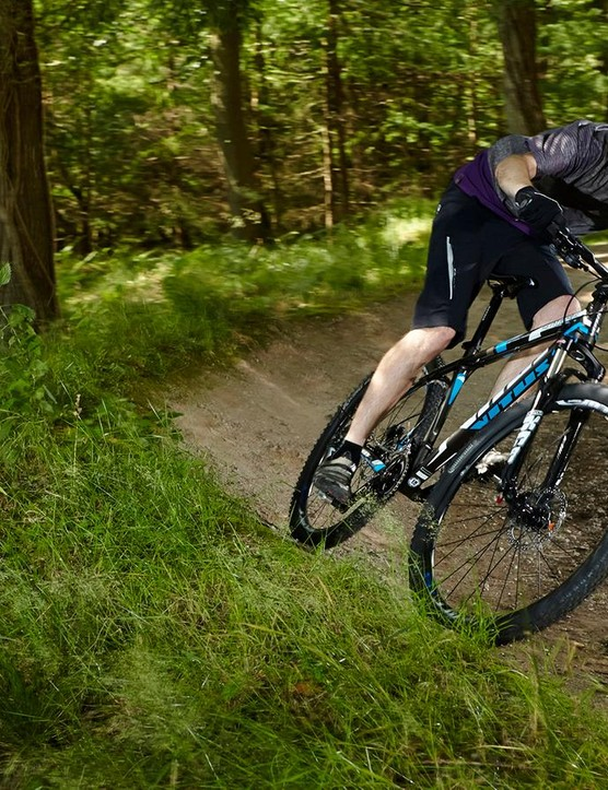 Out on the trail, the Sentier is more playful than you might expect