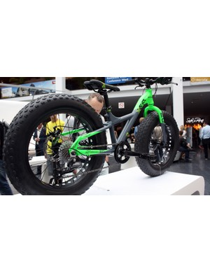 Every kid knows that bigger is always better and so here it is, the kids' fat bike
