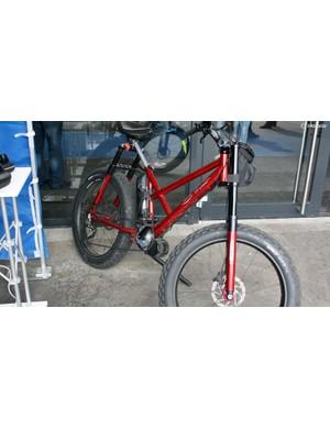 It's the bike you've always been waiting for! An electric fat bike chopper