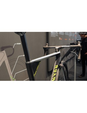 Canyon's designers have gone to a lot of effort to try and make the Projekt MRSC Connected look like a proper race bike and not just some strange experiment