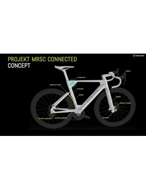 True concept bikes are becoming fewer and further between as companies concentrate more on projects that have a greater chance of actually becoming profitable products someday - and sooner rather than later. Canyon's Projekt MRSC Connected is thus all the more impressive for its far-reaching vision and ambition