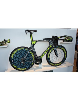 This camouflaged Plasma 5 was raced to victory by Sebastian Kienle at the Ironman European Championships