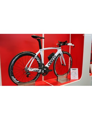 Ceepo's 2015 Venom now shares the same mould as the company's higher-end Katana, with only a 150g weight penalty for this more budget-conscious bike, which will come in at around £2,500